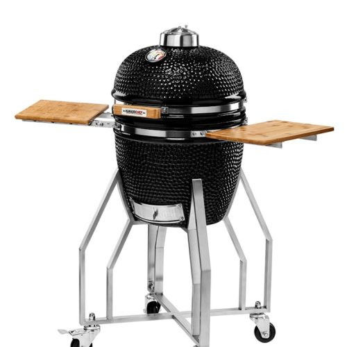 KAMADOCHEF_1400_Prestige_Diamond_Black_Inox_with_cart_2