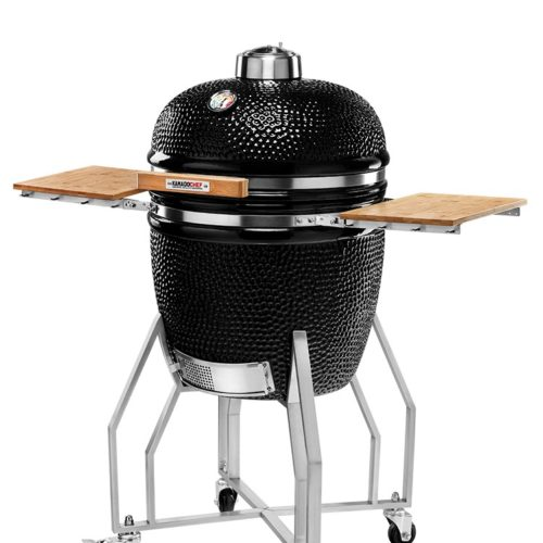 KAMADOCHEF_1900_Prestige_Diamond_Black_Inox_with_cart_2