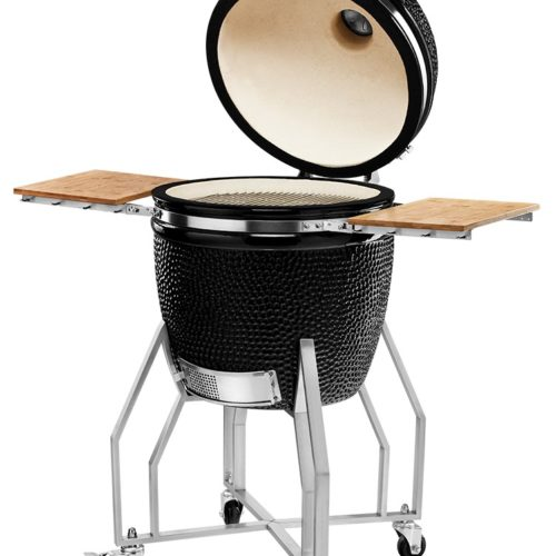 KAMADOCHEF_1900_Prestige_Diamond_Black_Inox_with_cart_3